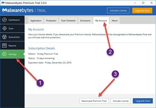 Malwarebytes Update to Version 3